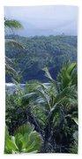 Honomaele Near Mokulehua At Hale O Piilani Heiau Hana Maui Hawaii Beach Towel