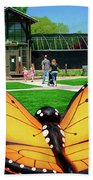 Honor Heights Butterfly House Beach Sheet
