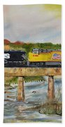 Hooch - Chattahoochee River - Columbus Ga Beach Towel