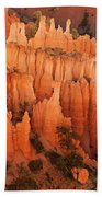 Hoodoos At Sunrise Bryce Canyon National Park Utah Beach Towel