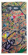 Hookah Monkeys - Jinga Monkeys Series Beach Towel