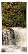 Hooker Falls Beach Towel