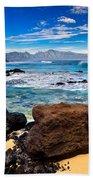 Hookipa Sunrise #3 Beach Towel