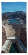 Hoover Dam Beach Towel