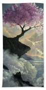 Hope Inclines Beach Towel by Rosario Piazza