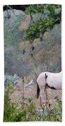 Horse 019 Beach Towel
