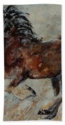 Horse 561 Beach Towel