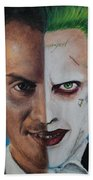 Moriarty And The Joker Beach Towel