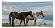Horses #2 Beach Towel