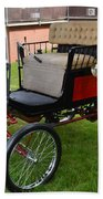 Horseless Carriage-c Beach Towel