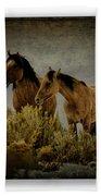 Horses 34 Beach Towel
