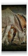 Horses 39 Beach Towel
