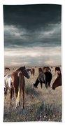 Horses Forever Beach Towel