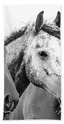 Horses - Id 16217-202749-4749 Beach Towel