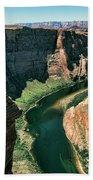 Horseshoe Bend Arizona Colorado River  Beach Towel