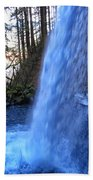 Horsetail Falls 2 Beach Towel