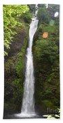Horsetail Falls Beach Towel