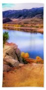 Horsetooth Lake Overlook Beach Towel