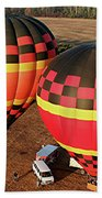 Hot Air Balloons Beach Towel