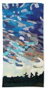 Hot August Sunrise Beach Towel