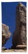 Hot Dark Blue Sky - Alabama Hills Beach Towel