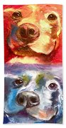 Hot Dog Chilly Dog Study Beach Towel