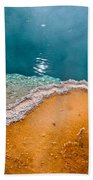 Hot Spring Detail Beach Towel