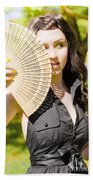 Hot Woman Beach Towel by Jorgo Photography - Wall Art Gallery