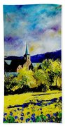 Hour Village Belgium Beach Towel