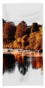 Housatonic River Mist Beach Towel