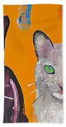House Cats Beach Towel