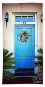 House Door 6 In Charleston Sc  Beach Towel