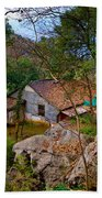 House In China Woods Beach Towel