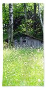 House In The Wood Beach Towel