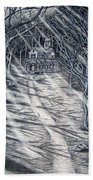 House In The Woods Beach Towel