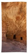 House On Fire-indian Ruin Beach Towel