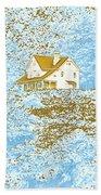 House On The Hill Beach Towel