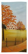 House On The Hill Beach Towel