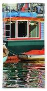 Houseboats 4 - Lake Union - Seattle Beach Towel