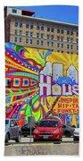 Houston, Inspired, Hip, Tasty, Funky, Savvy Beach Towel