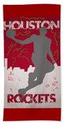 Houston Rockets Beach Towel