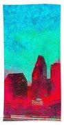 Houston Skyline 44 - Pa Beach Towel