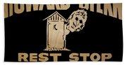 Howard Stern Rest Stop Beach Sheet