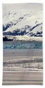 Hubbard Glacier Alaska Wilderness Beach Towel
