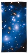 Hubble Sees Ghost Light From Dead Galaxies Beach Towel