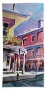 Hues Of The French Quarter Beach Towel