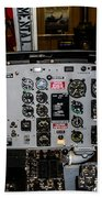 Huey Instrument Panel Beach Towel