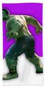 Hulk Collection Beach Towel