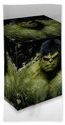 Hulk Beach Towel