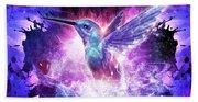 Hummingbird Love Beach Sheet